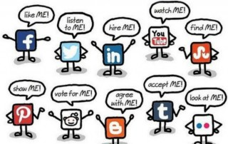social media talk